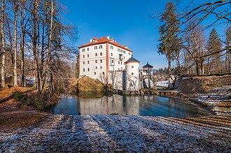 Snežnik Castle - Snežnik Castle after renovation