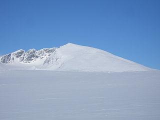 Snøhetta Mountain in Dovre, Norway