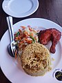 So called Hyderabadi Biriyani on a restaurant in Gazipur! A bit overrated! (35706757066) (2).jpg