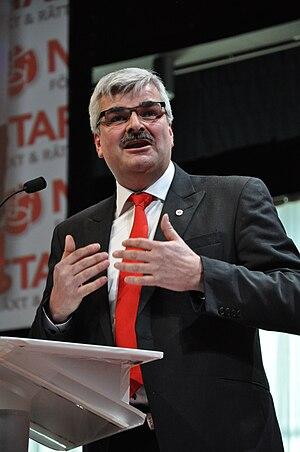 Håkan Juholt - Håkan Juholt in March 2011