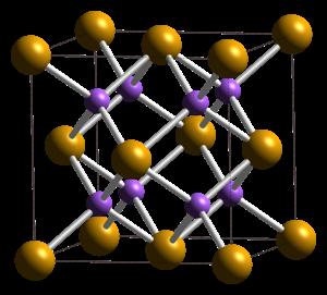Sodium selenide - Image: Sodium selenide unit cell 1992 CM 3D balls
