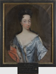 Portrait of Sofia Hedvig, 1677-1735