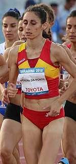 Solange Pereira Portuguese-Spanish middle-distance runner