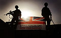 Soldiers in Afghanistan with the Armed Forces Day Flag MOD 45155518.jpg