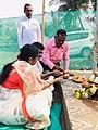Somvati Mahayag at Veerabhadra Devathan Vadhav in presence of Balyogi Om Shakti Maharaj. 12.jpg
