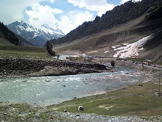 Kashmir Valley - Sind River at Nilgrar Sonamarg