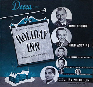 <i>Song Hits from Holiday Inn</i> 1942 studio album by Fred Astaire, Bing Crosby