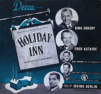 Holiday Inn (film) - Song Hits from Holiday Inn (Decca Records 1942)