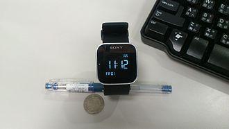 Sony SmartWatch - Image: Sony MN2