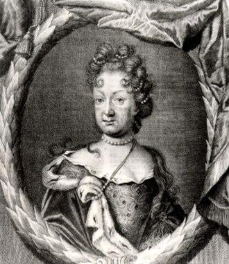 Sophia of Saxe-Weissenfels, Princess of Anhalt-Zerbst - Image: Sophia von Sachsen Weißenfels, Fürstin von Anhalt Zerbst