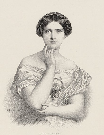 Soprano Sophie Cruvelli, 1852 Sophie Cruvelli by Desmaisons.jpg