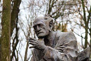 Sos Sargsyan - The statue of Sos Sargsyan in Stepanavan