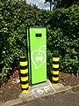 Source London Siemens electric car charging point Oakwood tube station car park 04.jpg