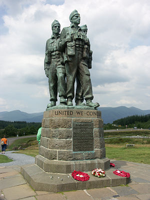 Spean Bridge - Image: Spean Bridge Commando Memorial PICT6239 r 1
