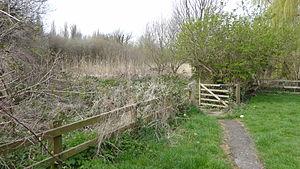 Spencer Road Wetlands - The entrance to Spencer Road Wetlands