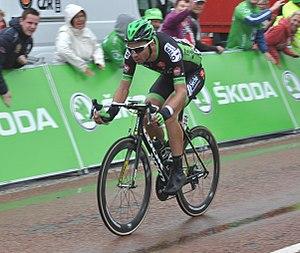 Fortuneo–Oscaro - Pierre-Luc Périchon in Tour de France 2015.