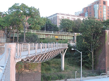 Squibb Park Bridge, Brooklyn, built 2013 Squibb Park Bridge uncut jeh.jpg