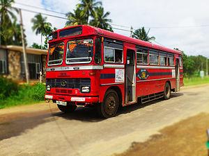 Sri Lanka Transport Board - TATA 1510 Bus Owned By SLTB