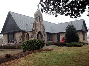 St. Augustine's University (Raleigh, North Carolina) - Image: St. Augustine's University Historic Chapel