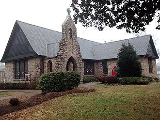 St. Augustine's University (Raleigh, North Carolina) - Image: St. Augustine's University Historic Chapel