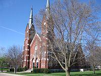 St. Boniface Church Clinton Iowa April '09.JPG