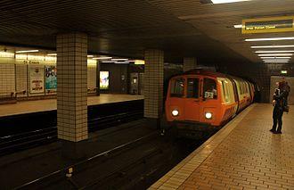 St Enoch subway station - Image: St. Enoch subway station interior