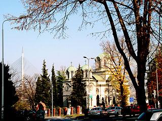 Church of St. George, Banovo Brdo church building in Belgrade, Serbia