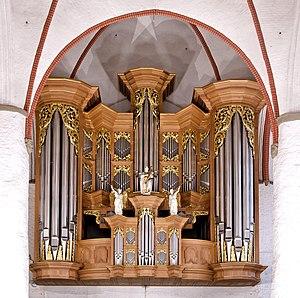 Schnitger organ (Hamburg) - The Arp Schnitger Organ at St Jacobi Church