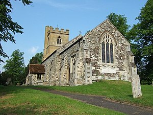 Hockliffe - Image: St. Nicholas, Church End, Hockliffe geograph.org.uk 182708