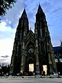 St. Philomena's church during sunset.jpg