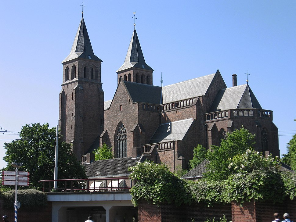 St. Walburgius-basiliek Arnhem mei 2007