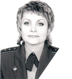 "Praporshchik - ""Starshy praporshchik"" of the Russian Federation's Armed Forces in service uniform (female)"