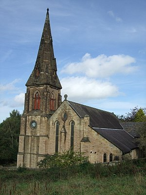 Shotley Bridge - Image: St Cuthbert's Church, Benfieldside