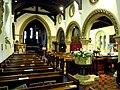 St Katharines Ickleford Nave Up.JPG