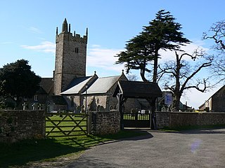 St Marys Church, Rogiet Church in Monmouthshire, Wales