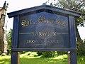 St Mary's Church Borwick, Sign - geograph.org.uk - 1306341.jpg