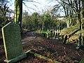 St Mary's Parish Church, Penwortham, Footpath in graveyard - geograph.org.uk - 669787.jpg