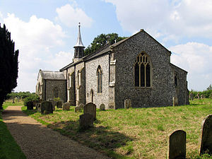 Aldborough, Norfolk - Image: St Marys Aldborough