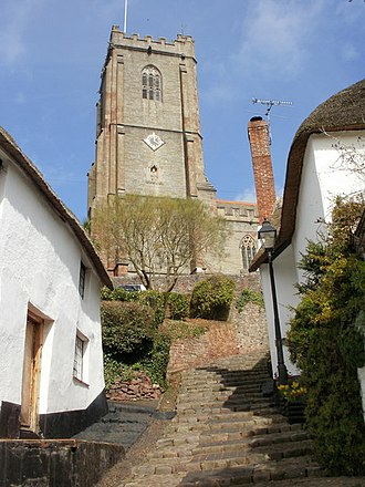Minehead - St Michael's Church tower