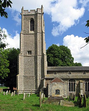 Barton Turf - Image: St Michael and All Angels, Barton Turf, Norfolk geograph.org.uk 481381