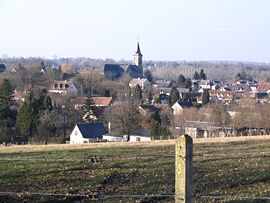 A general view of Sainte-Gauburge-Sainte-Colombe