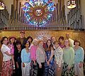 St joseph organ choir 2009.jpg