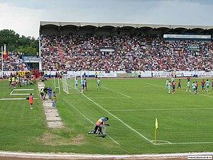 Stadionul Municipal (Sibiu) - Image: Stadionul municipal sibiu 4