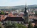 Stadtkirche Vaihingen an der Enz vom Schlossberg aus gesehen.jpg