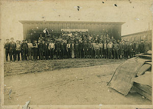 Stedman Machine Company - 1840 Staff at Aurora Location