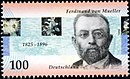 Stamp Germany 1996 Briefmarke Ferdinand von Mueller.jpg
