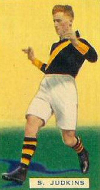 1934 VFL season - Premiership player Stan Judkins