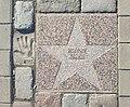 Star of Mikhail Kalik on walk of Actor's Fame of Vyborg.jpg