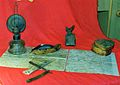 Stara mapa i lampa, Poznan, 10.1993r.jpg