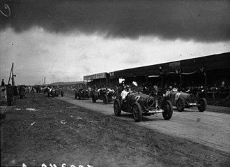 Carthage Street Circuit - Start of the 1933 Tunis Grand Prix